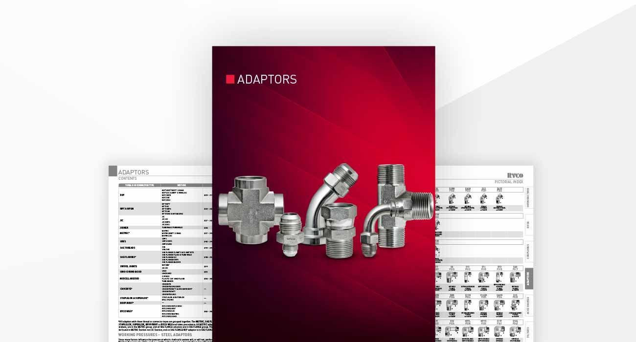 Adaptors Section Hydraulic Technical Manual
