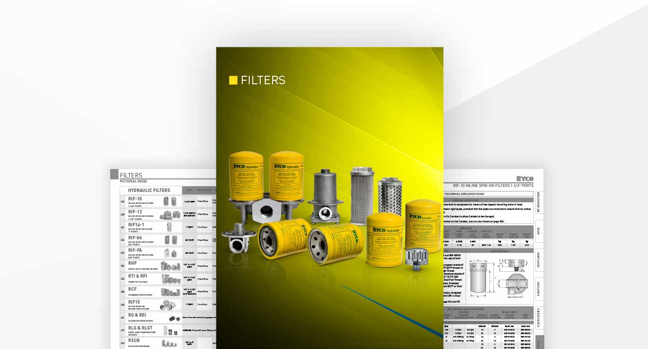 Filters Section Hydraulics Technical Manual