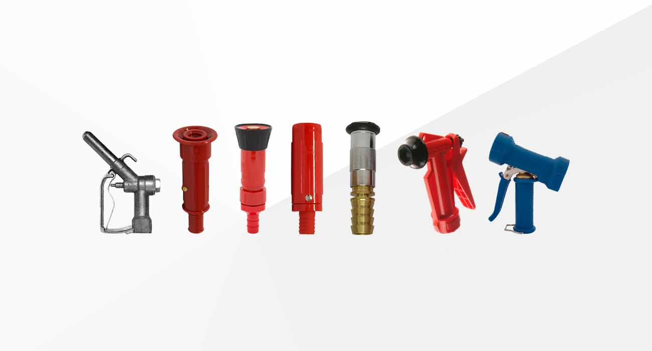 Industrial Hose Guns and Nozzles