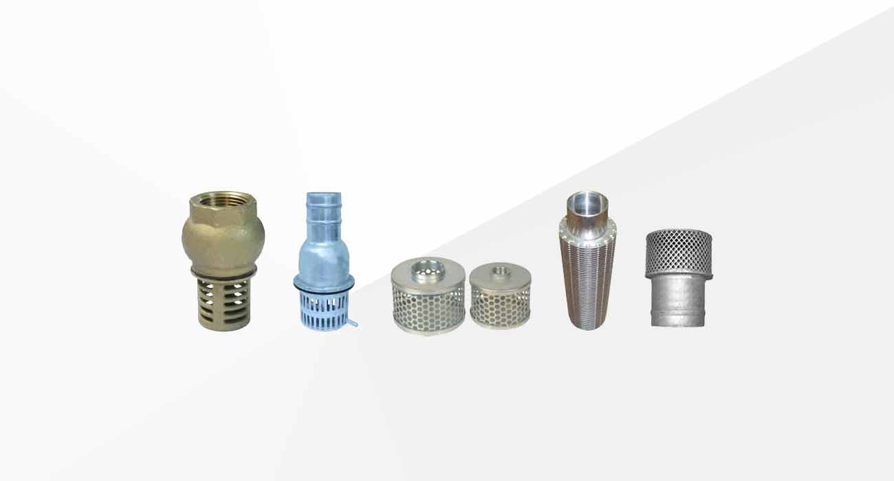 Industrial Valves and Suction Strainers
