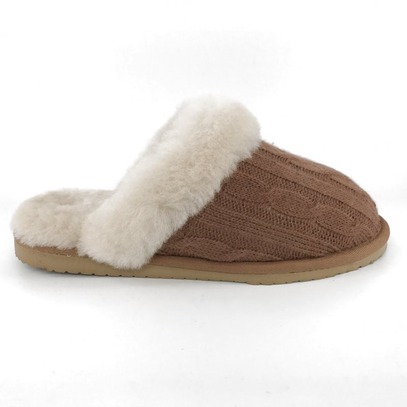 36905-Mubo-UGG-Women-039-s-Scuff-Slippers-Chestnut-Colour