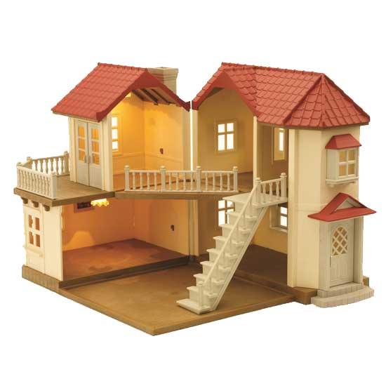 sylvanian families home set beechwood hall ebay. Black Bedroom Furniture Sets. Home Design Ideas