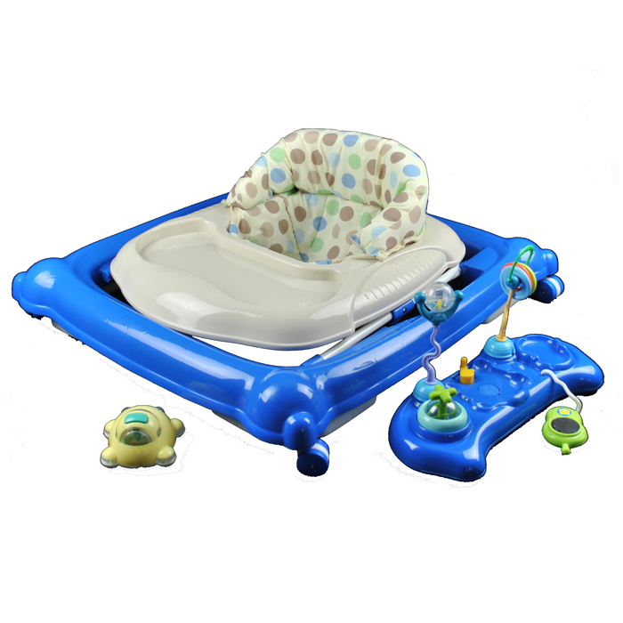 Baby walker play activity centre blue aud for Baby play centre