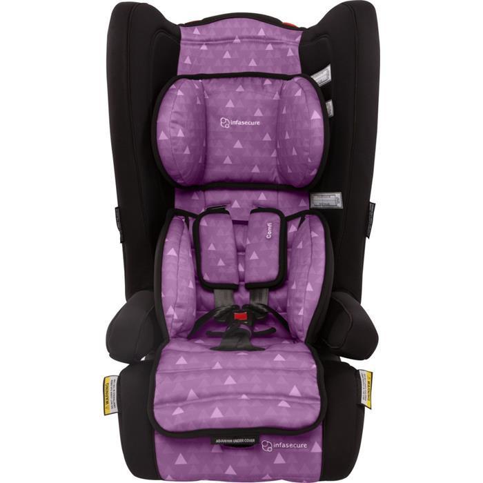 infa secure comfi treo convertible booster seat purple ebay. Black Bedroom Furniture Sets. Home Design Ideas