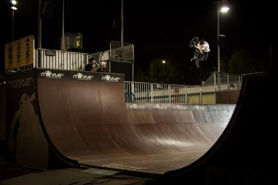 Chris Nicol Monster Skatepark Sydney Australia