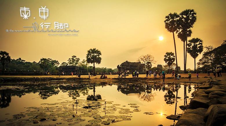 Ankor Wat Sunset
