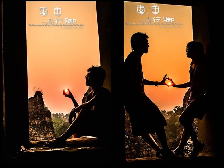 Angkor Pre Rup Silhouette