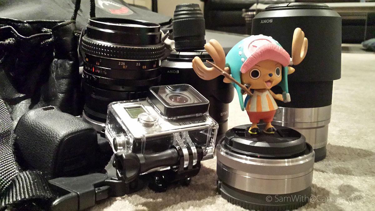 日本旅游摄影装备