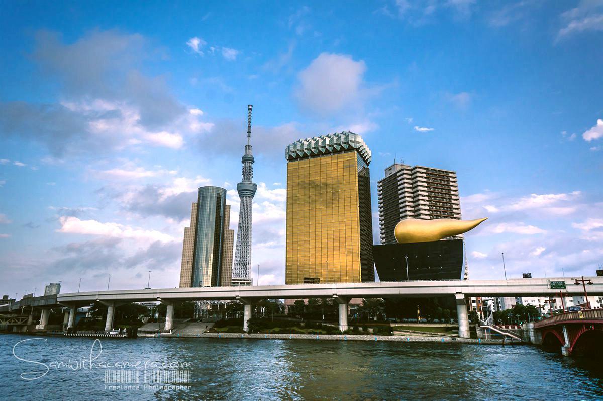 朝日啤酒大楼,天空树