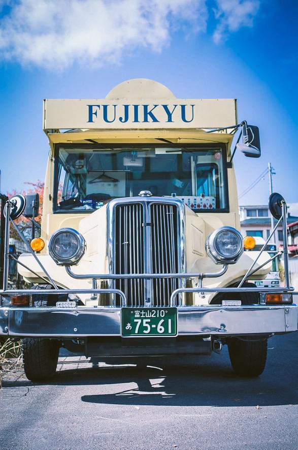 Kawaguchiko Sightseeing Retro Bus