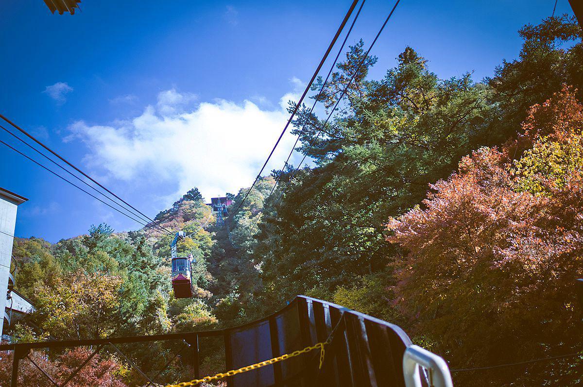 Tenjoyama Park Mt. Kachikachi Ropeway