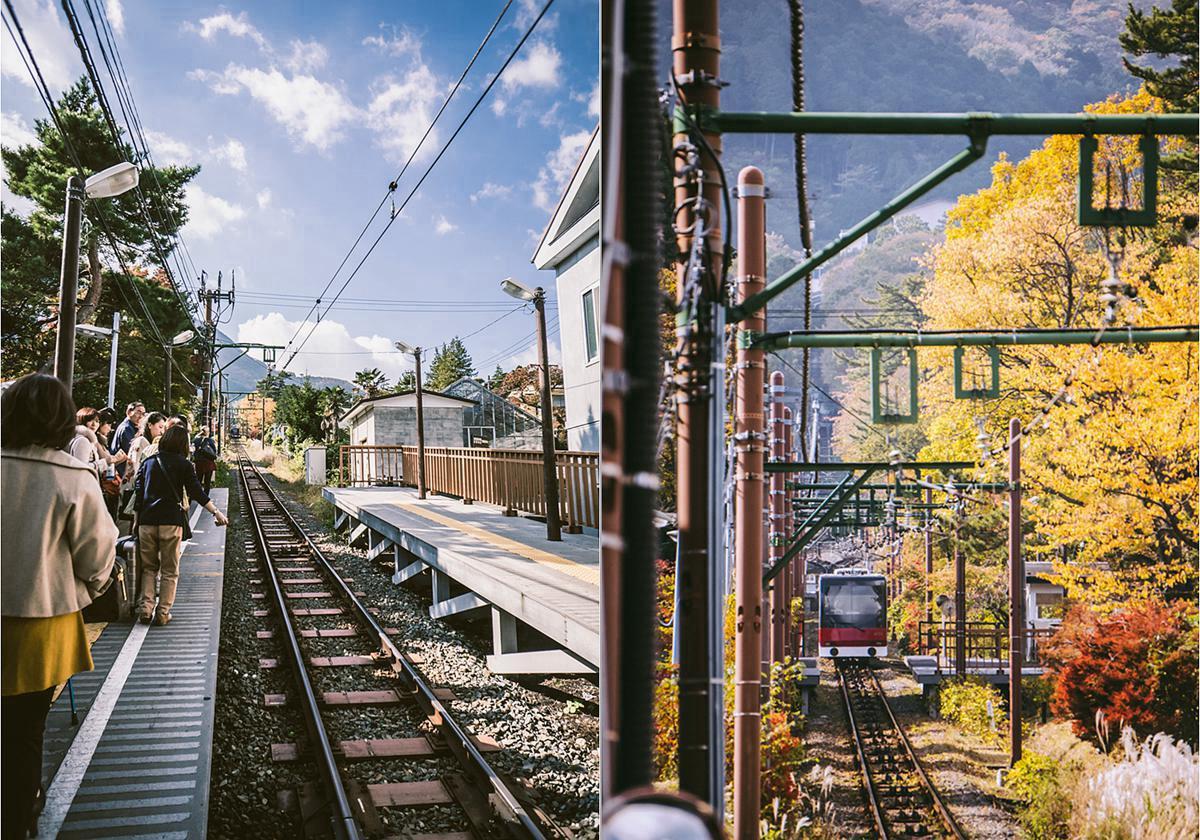 箱根登山缆车