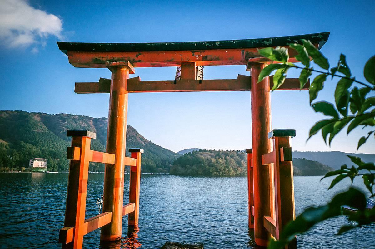 箱根神社鸟居