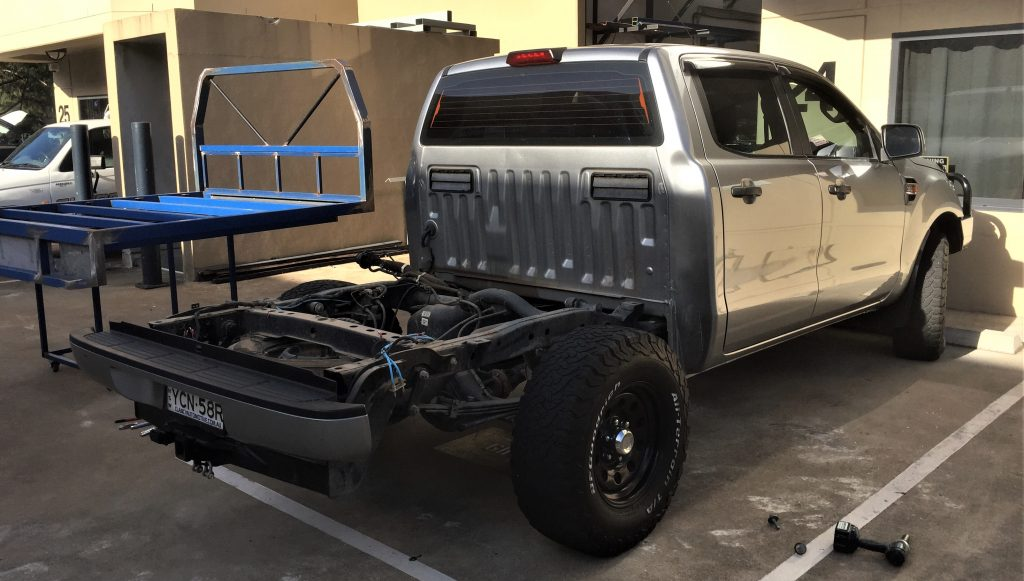 2016 Ford Ranger PX MK2 XLS Build   Shannons Engineering