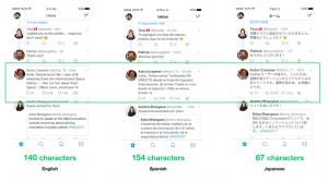 Same Tweet in Different Languages - Twitter
