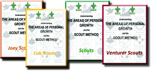 Large areas of personal growth
