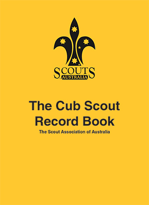 Cub Record Book Cover