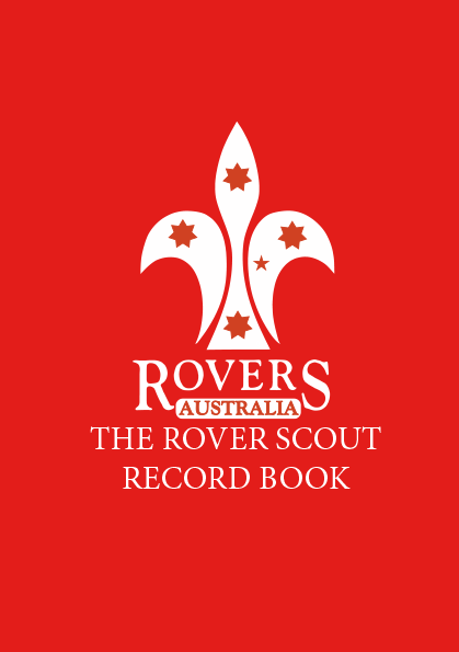 Rover Scout Record Book Cover