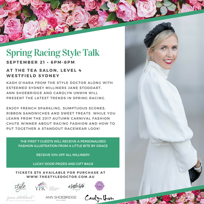 Spring racing style talk  thursday september 21