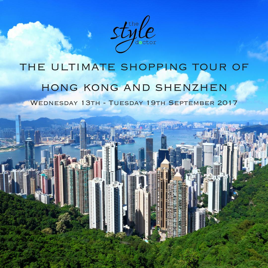 Hong kong shopping tour