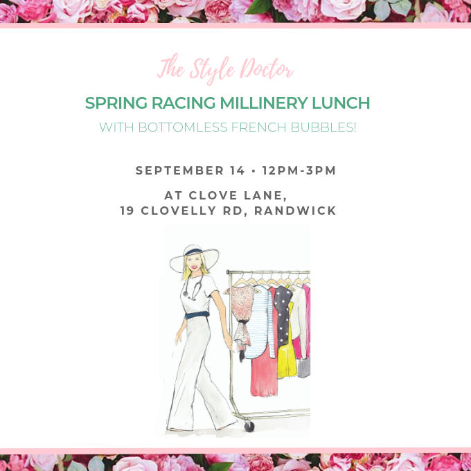 Spring racing millinery lunch 2019  cover 2