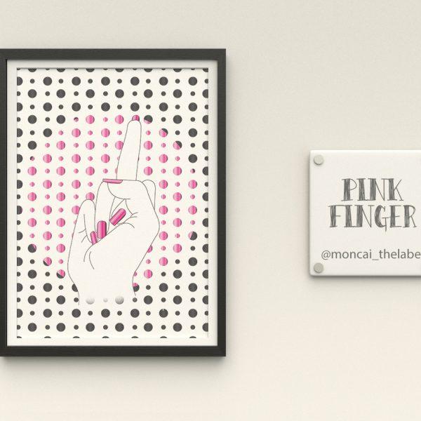 PINK-finger