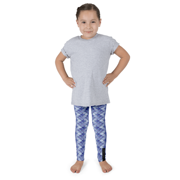 Purple Mermaid Kid's leggings