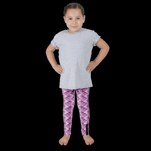 Pink Mermaid Kid's leggings
