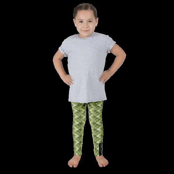 Olive Mermaid Kid's leggings