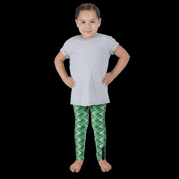 Green Mermaid Kid's leggings