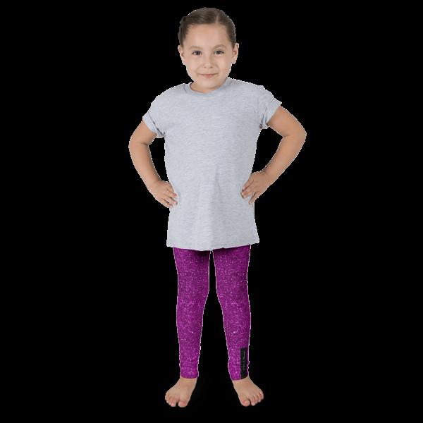 Magenta Glitz Kid's leggings