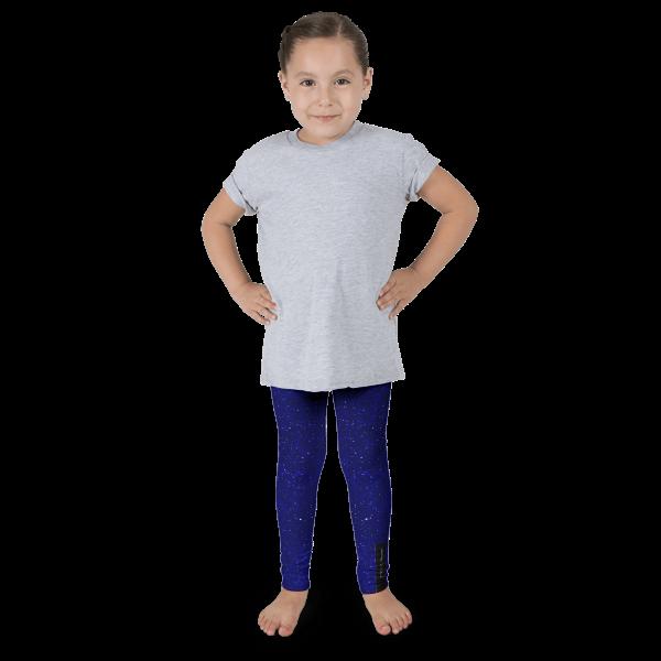 Navy Glitz Kid's leggings