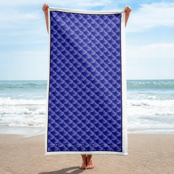 Cobalt Mermaid Towel