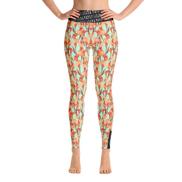 Camellia Yoga Leggings