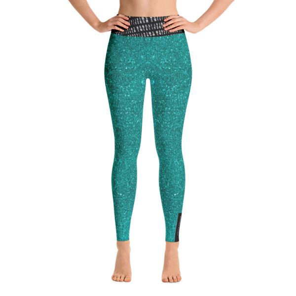Teal Yoga Leggings