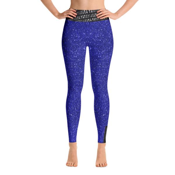 Cobalt Yoga Leggings