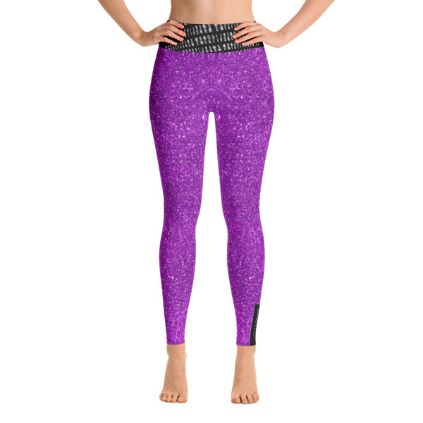 Violet Yoga Leggings