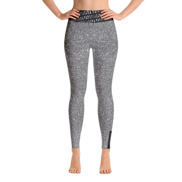 Silver Yoga Leggings
