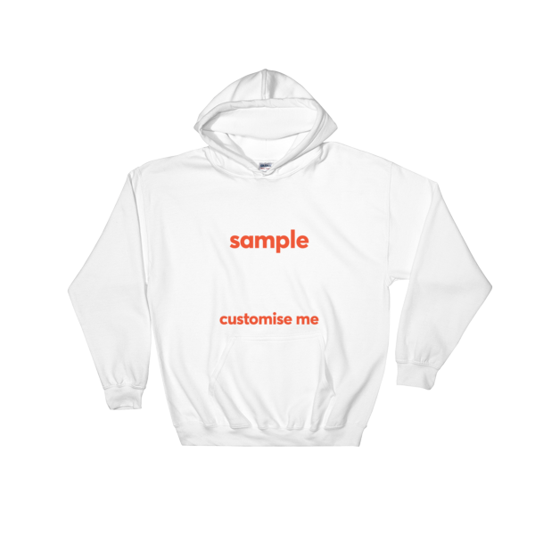 Customisable Hooded Sweatshirt