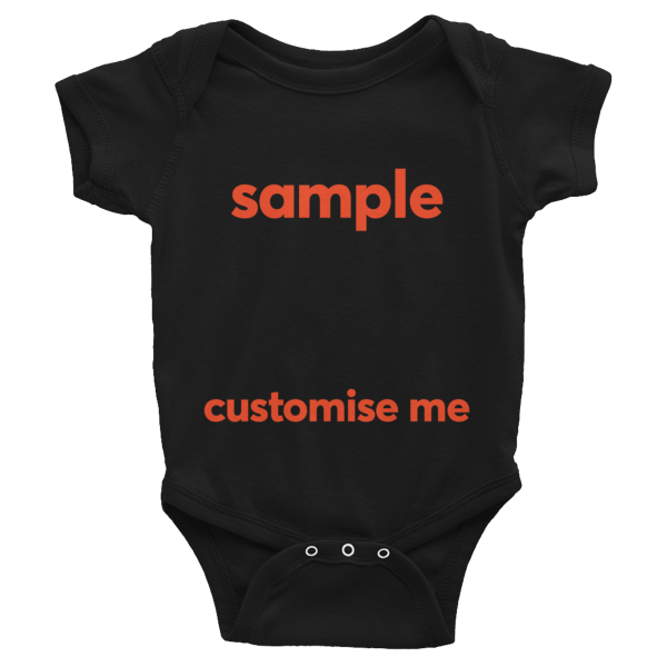 Customisable Infant Bodysuit
