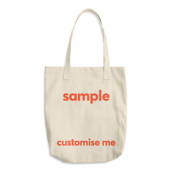 Customisable Cotton Tote Bag