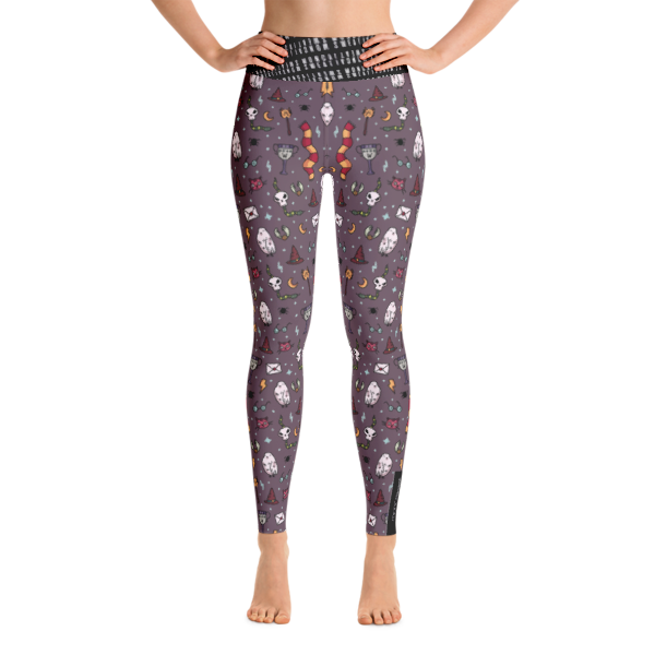 Gryffindor Yoga Leggings