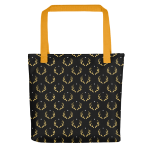 Golden Deer Tote bag