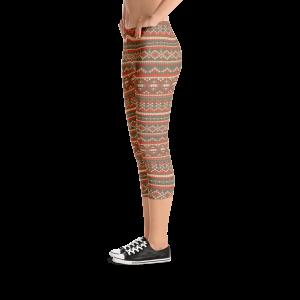 Ellie Sweater Capri Leggings