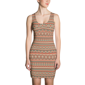 Ellie Sweater Sublimation Cut & Sew Dress