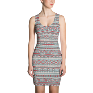 Dee Sweater Sublimation Cut & Sew Dress