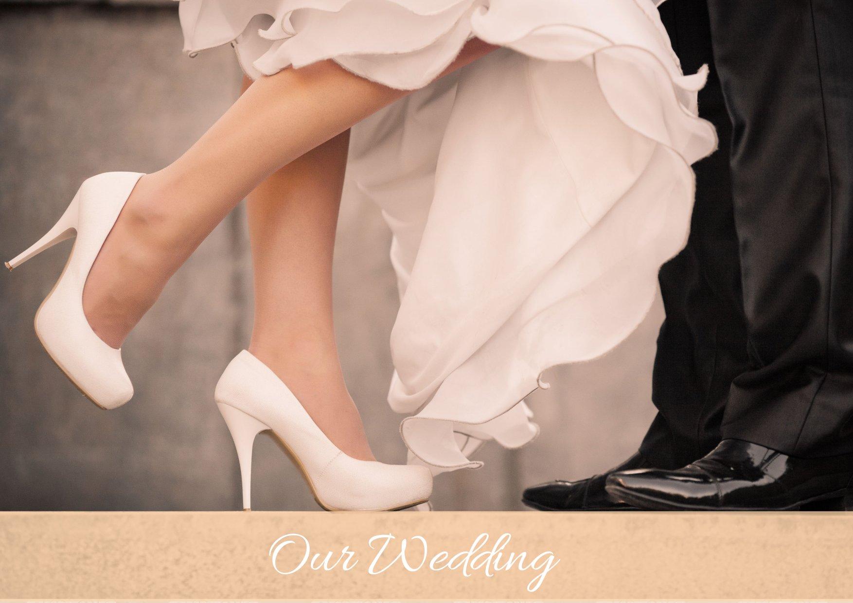 Свадебные платья обувь