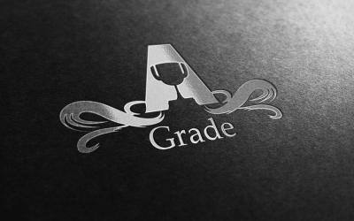 A Grade Logo
