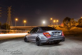 W204 Mercedes-Benz AMG C63 nv0a2301