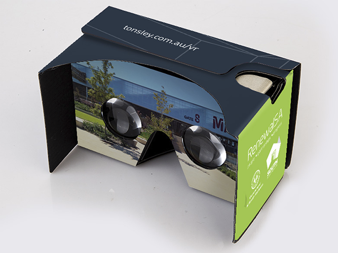 Custom Google Cardboard VR Headset